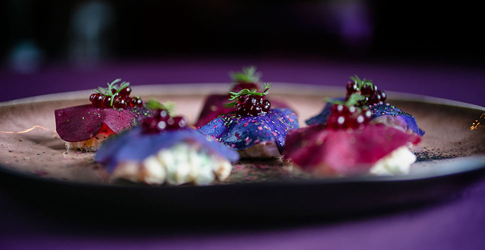 Пурпурное оливье от шефа